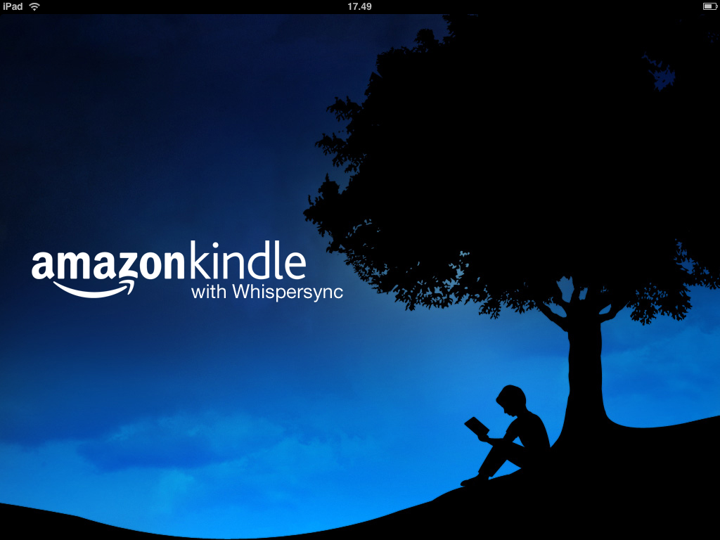 Amazon Kindle på iPad