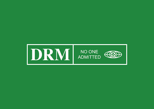 DRM — No one admitted